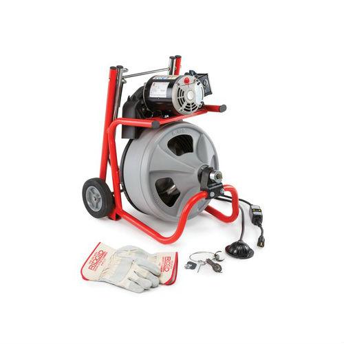"""Ridgid 52363 K-400 Drain Cleaner Machine w/ 3/8"""" x 75ft Cabl"""